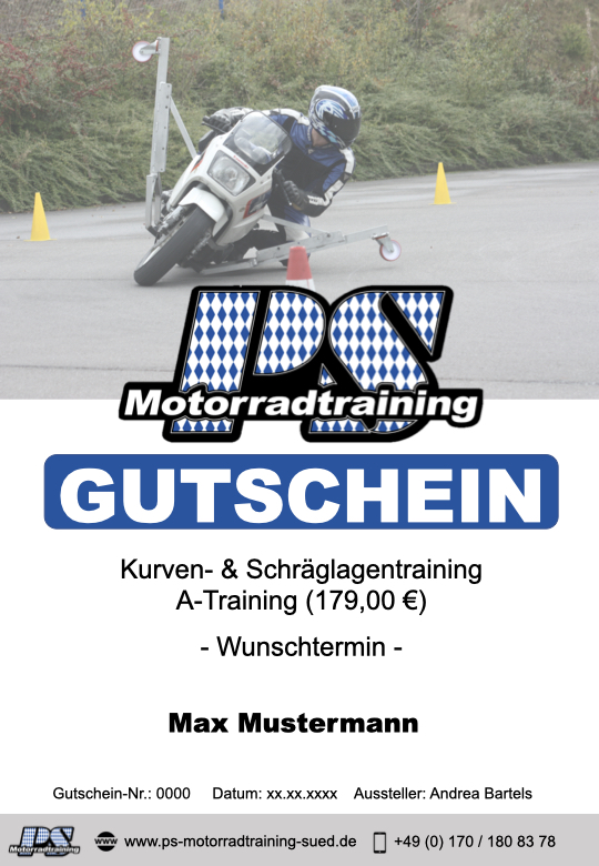 Gutschein PSS neu A Training Flue gross